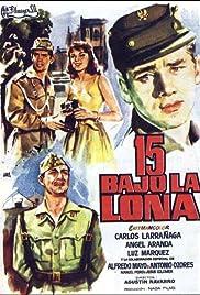 15 bajo la lona Poster