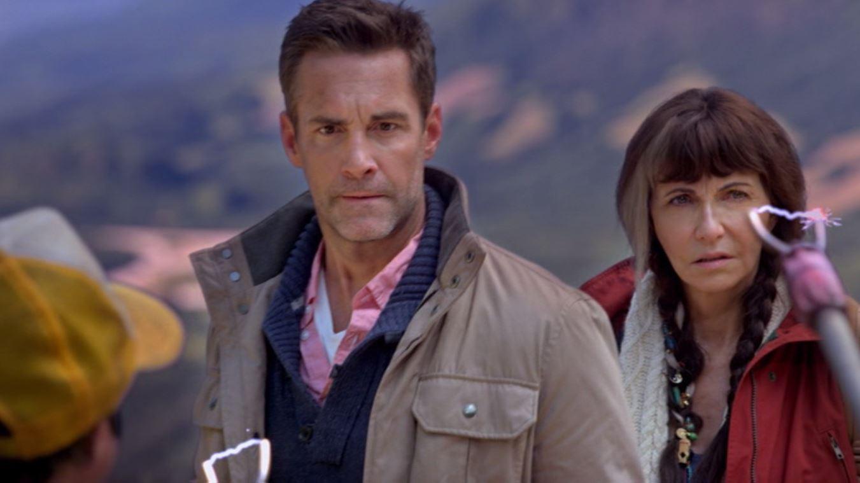 Mary Steenburgen and Jay Harrington in Jim Henson's Turkey Hollow (2015)