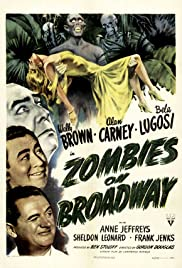 Zombies on Broadway(1945) Poster - Movie Forum, Cast, Reviews