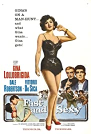 Fast and Sexy (1958) Poster - Movie Forum, Cast, Reviews