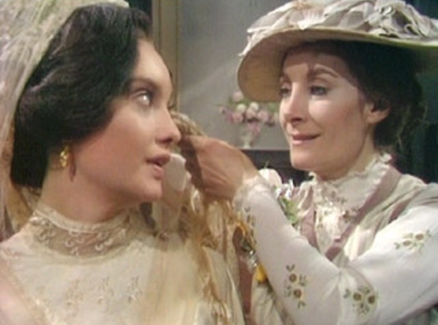 Jean Marsh And Nicola Pagett In Upstairs Downstairs 1971
