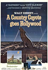 A Country Coyote Goes Hollywood Poster