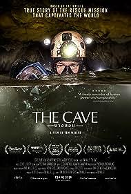 Ekawat Niratvorapanya, Jim Warny, and Valerie Bentson in The Cave (2019)