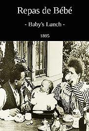 Baby's Dinner Poster
