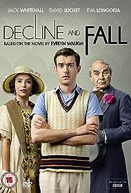 Eva Longoria, David Suchet, and Jack Whitehall in Decline and Fall (2017)