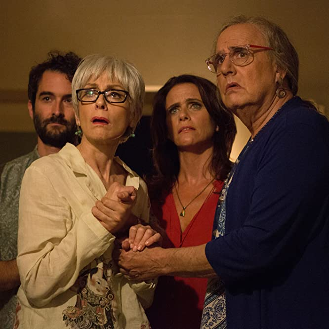 Jeffrey Tambor, Jay Duplass, Amy Landecker, and Judith Light in Transparent (2014)