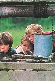 Riku Suokas, Maria Larpo, and Vesa-Pekka Mäkinen in Kuka uskoo haikaraa? (1983)