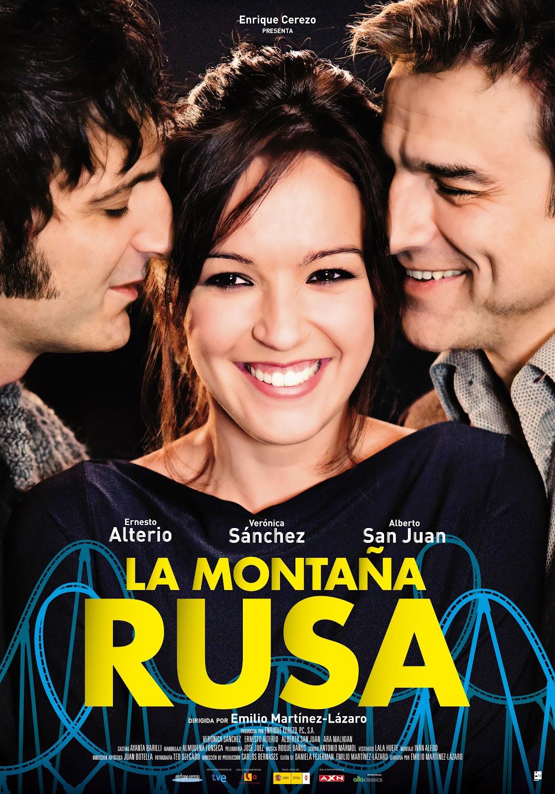 Ernesto Alterio, Alberto San Juan, and Verónica Sánchez in La montaña rusa (2012)