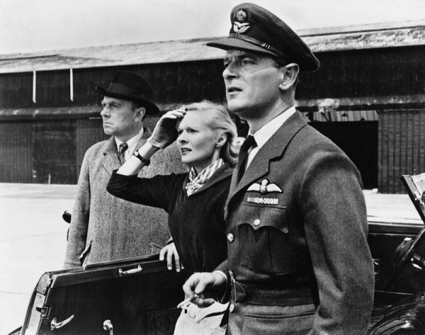 Ann Todd, Nigel Patrick, and Ralph Richardson in The Sound Barrier (1952)