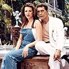 Juan Ferrara and Alicia Machado in Infierno en el paraíso (1999)