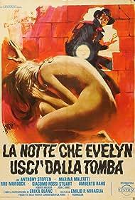 La notte che Evelyn uscì dalla tomba (1972) Poster - Movie Forum, Cast, Reviews