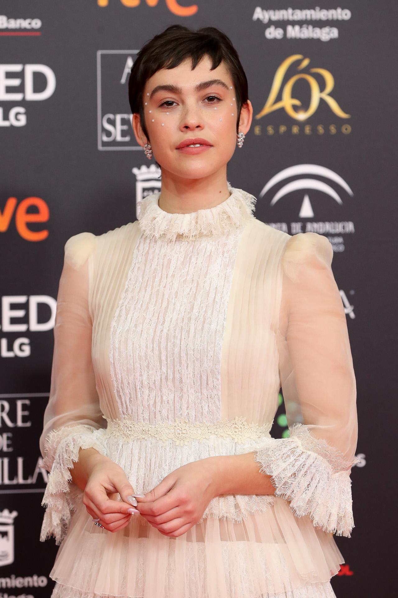 Greta Fernández at an event for Premios Goya 34 edición (2020)