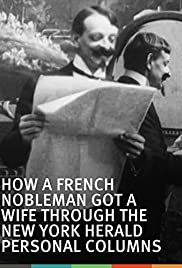 How a French Nobleman Got a Wife Through the 'New York Herald' Personal Columns Poster