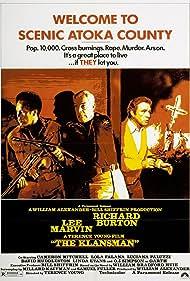 Richard Burton, Lee Marvin, and O.J. Simpson in The Klansman (1974)