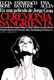 Ceremonia sangrienta (1974) Poster - Movie Forum, Cast, Reviews