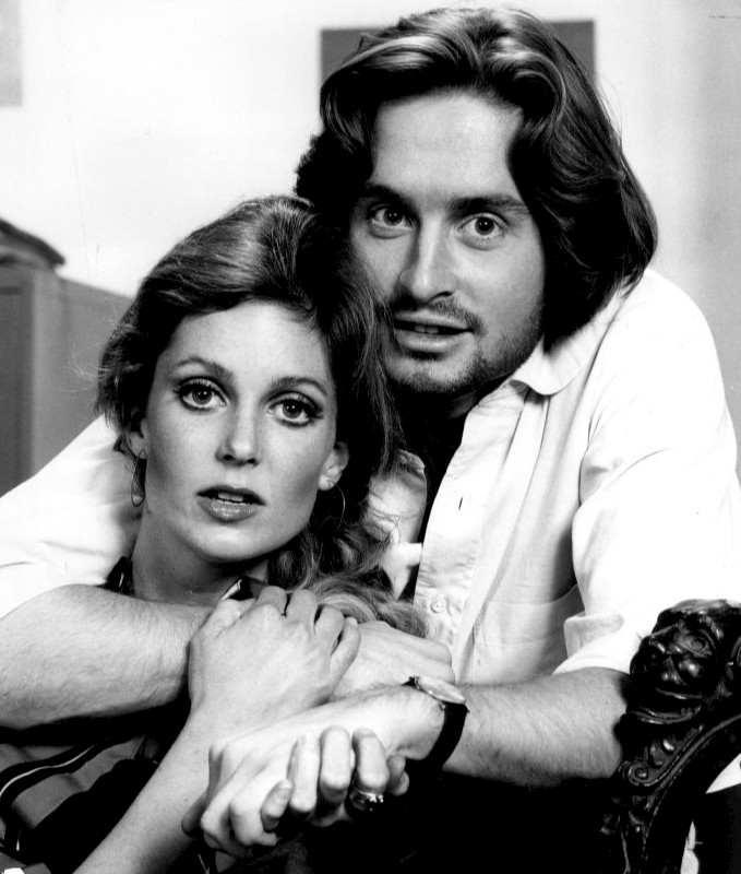 Michael Douglas and Tisha Sterling in The Experiment (1969)