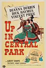 Up in Central Park Poster