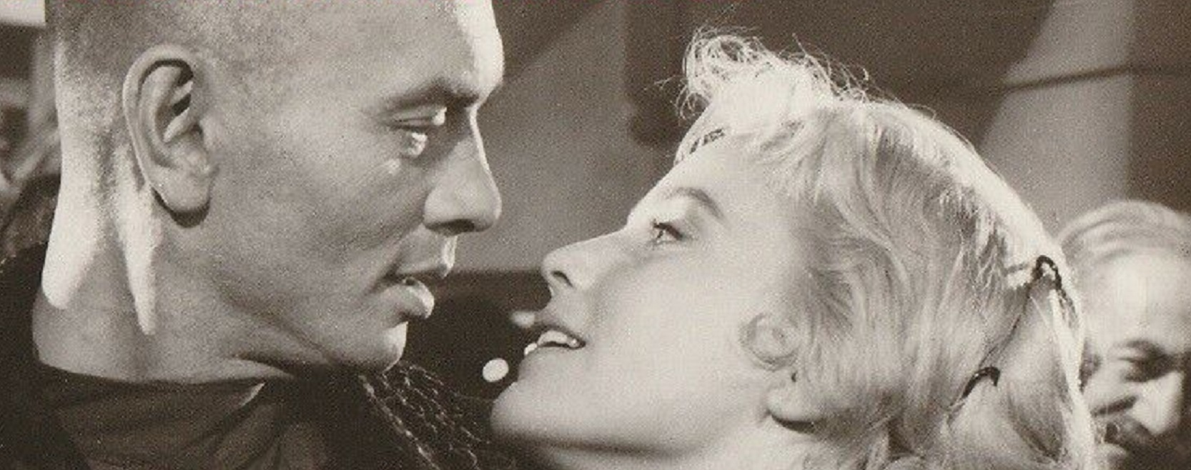 Yul Brynner and Maria Schell in The Brothers Karamazov (1958)