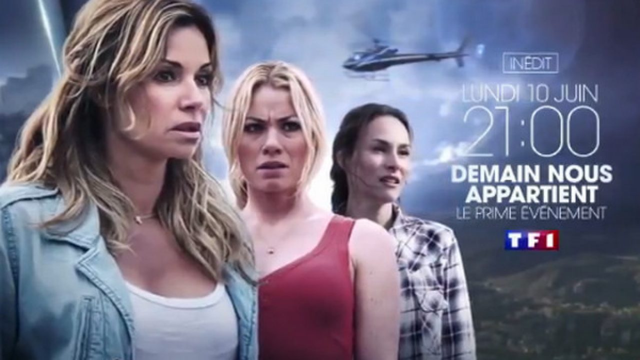Ingrid Chauvin, Vanessa Demouy, and Maud Baecker in Demain nous appartient - Le Piège (2019)