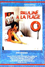 Pauline at the Beach Poster