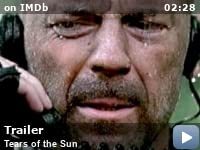 tears of the sun 2003 imdb