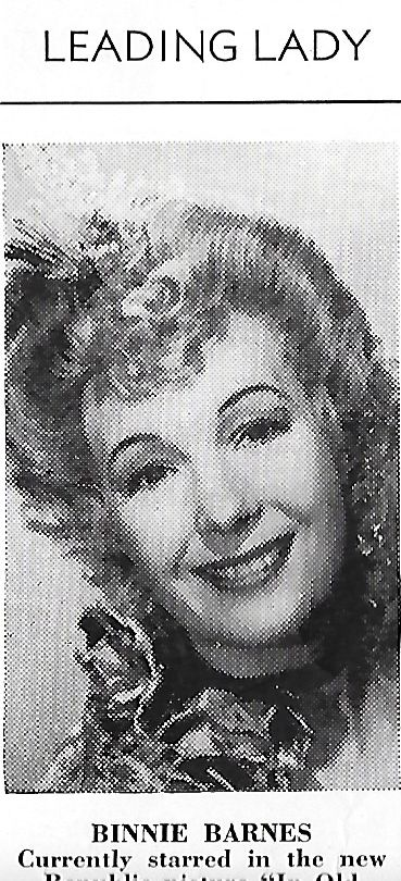 Binnie Barnes in In Old California (1942)