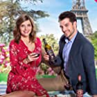 Jen Lilley and Dan Jeannotte in A Paris Romance (2019)