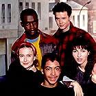 Igor Butler, Ysa Ferrer, Pascal Jaubert, Adama Ouédraogo, and Hélène Rames in Seconde B (1993)
