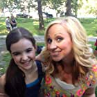 Leigh-Ally Baker and Me on the set of Little Savages movie!