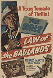 Law of the Badlands Poster