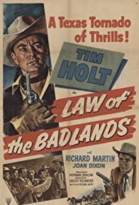 Primary photo for Law of the Badlands