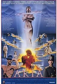 Bridget Fonda, John Hurt, Theresa Russell, and James Mathers in Aria (1987)