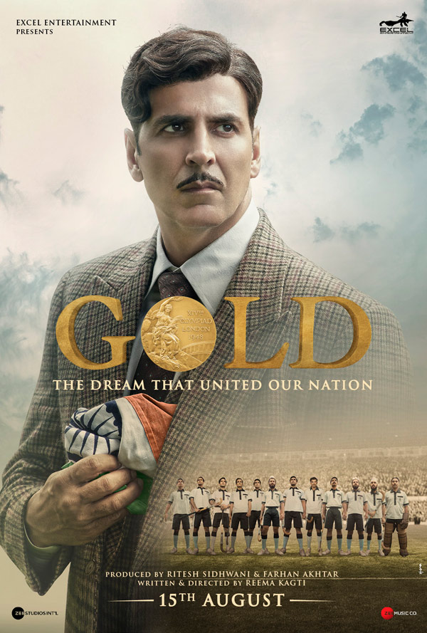 Gold (2018) Hindi 720p DVDScr x264 999MB