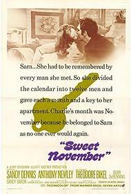 Sweet November (1968) Poster - Movie Forum, Cast, Reviews