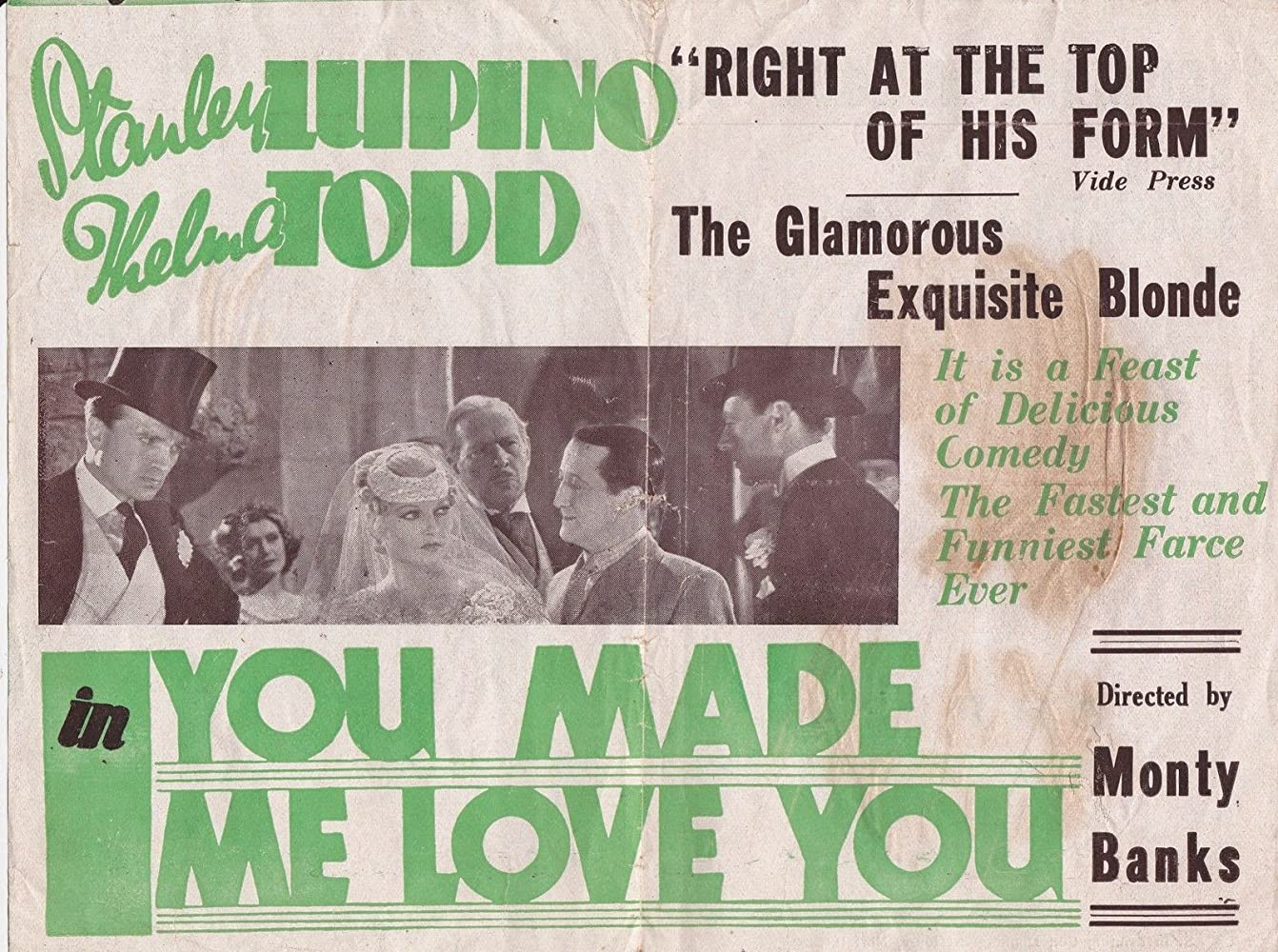 You Made Me Love You (1933)