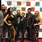 At the LA premiere of Shadow Fighter