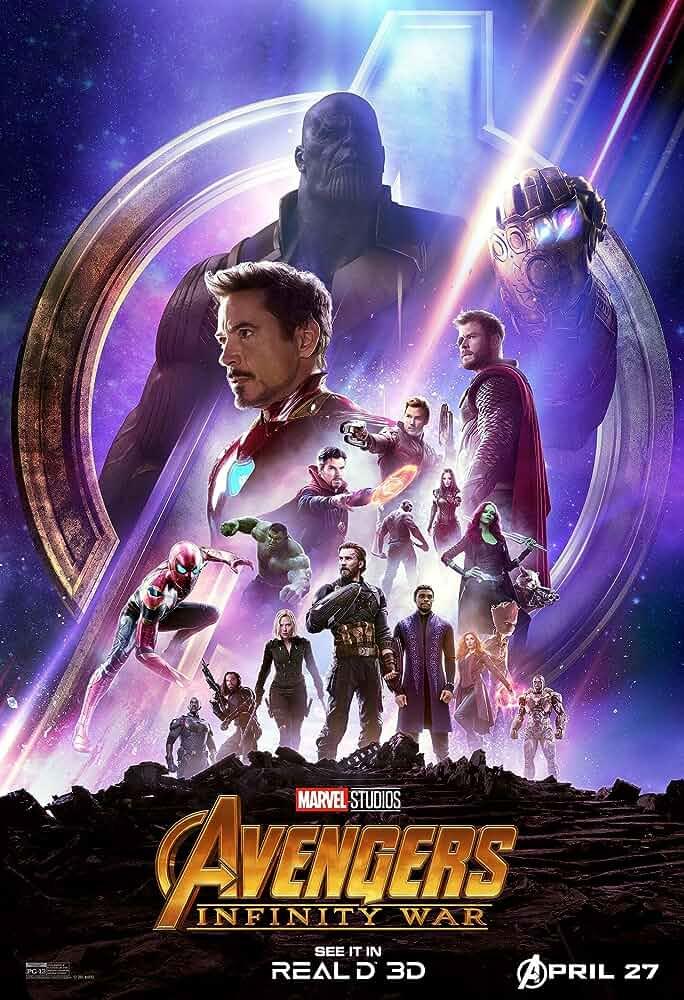 Avengers Infinity War (2018) 720p BDRip [Tamil+Telugu + Hindi+Eng] x264-1.6GB-ESubs- Top Rated Movies