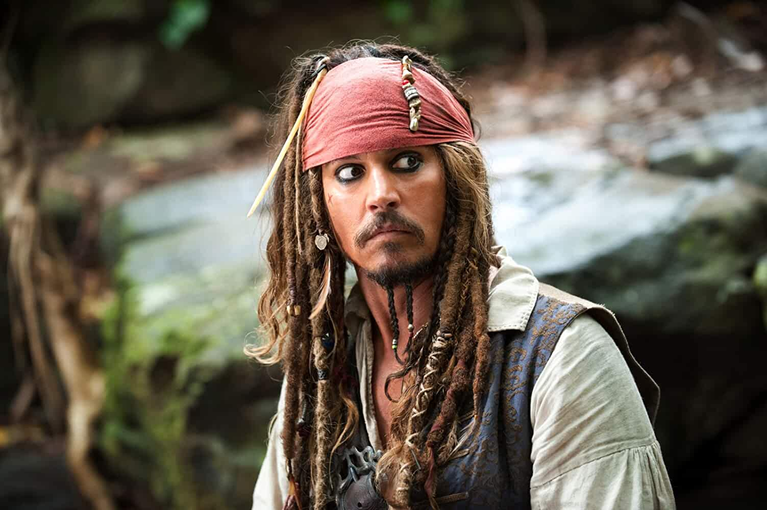 Johnny Depp in Pirates of the Caribbean On Stranger Tides 2011