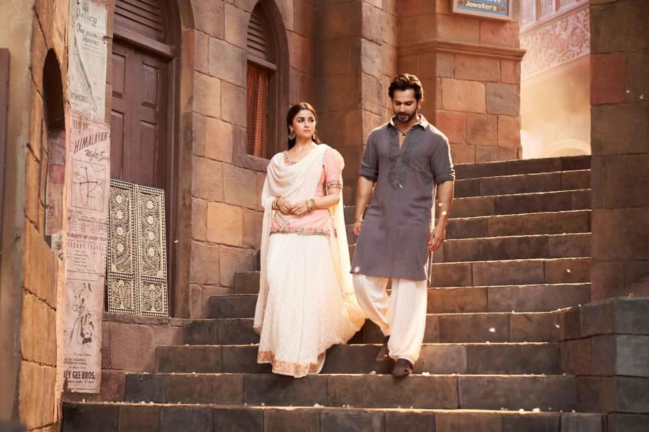 Alia Bhatt and Varun Dhawan in Kalank (2019)
