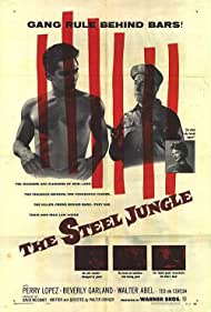 Beverly Garland and Perry Lopez in The Steel Jungle (1956)
