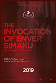 The Invocation of Enver Simaku Poster