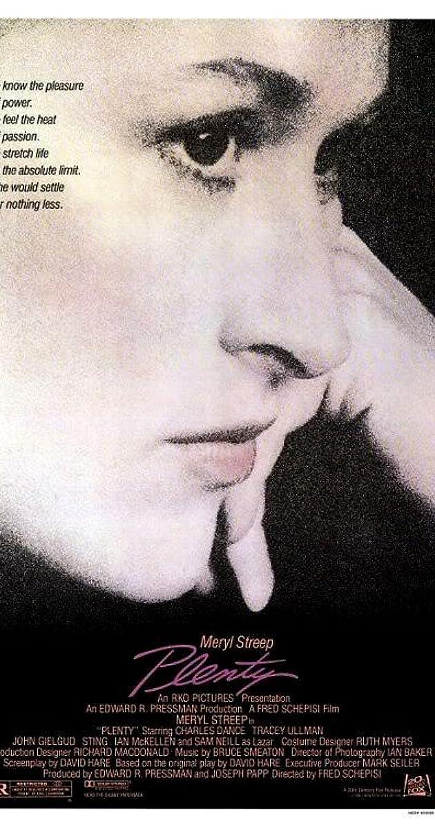 3169cbad6 Plenty (1985) - Plenty (1985) - User Reviews - IMDb