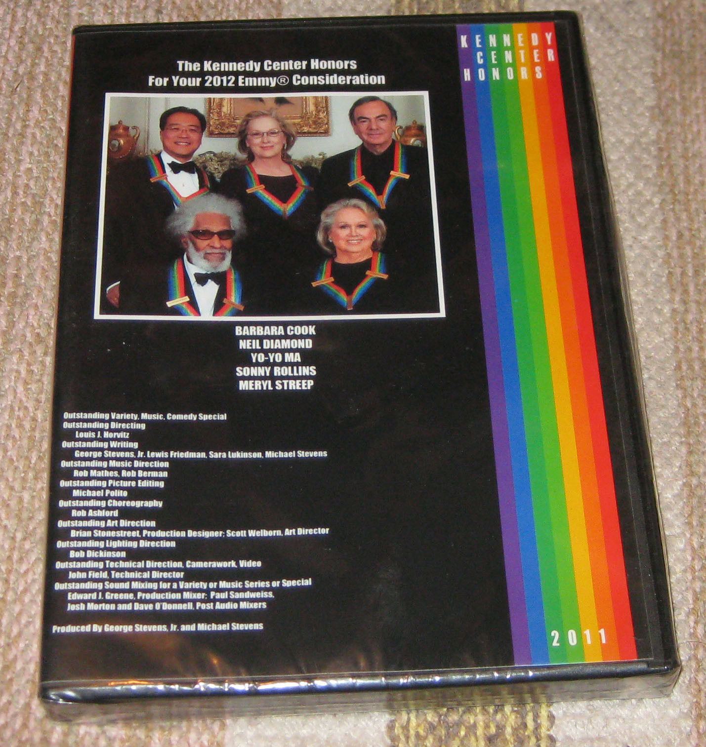Meryl Streep, Neil Diamond, Barbara Cook, Yo-Yo Ma, and Sonny Rollins in The Kennedy Center Honors: A Celebration of the Performing Arts (2011)