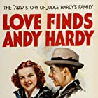 Judy Garland and Mickey Rooney in Love Finds Andy Hardy (1938)