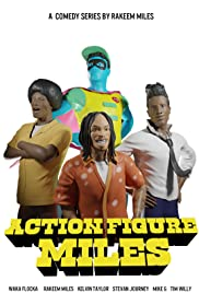 Action Figure Miles Poster