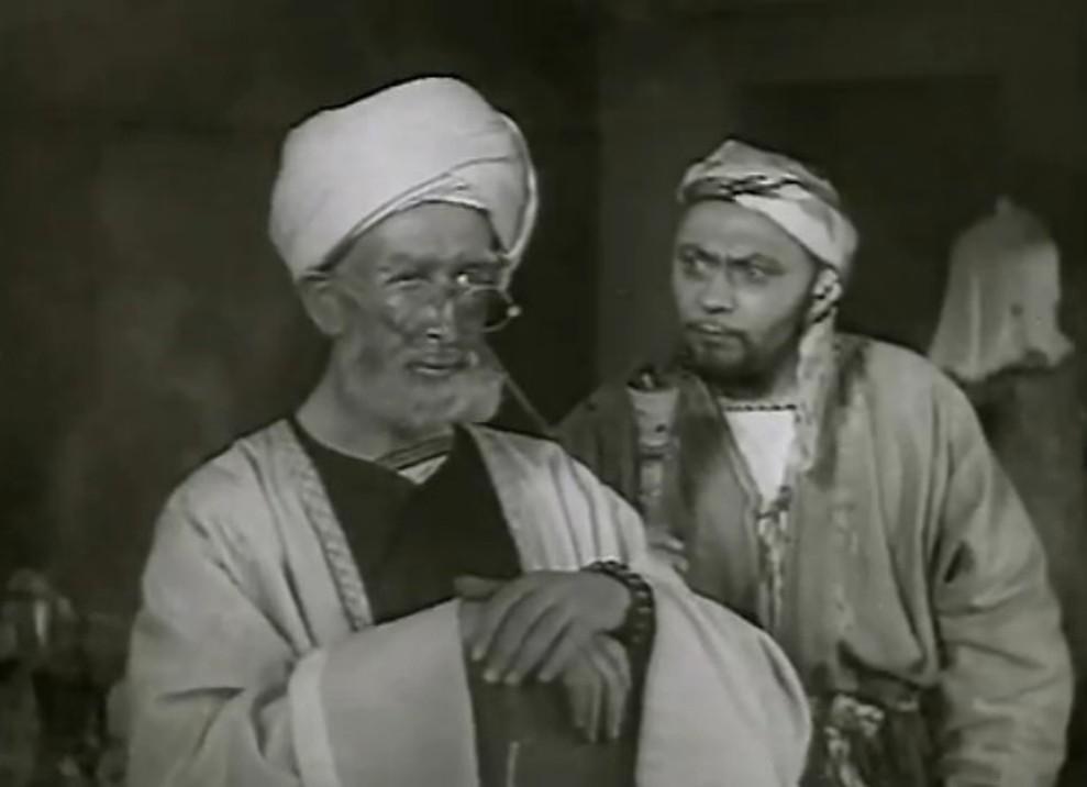 Lev Sverdlin and Nikolay Volkov in Nasreddin v Bukhare (1943)
