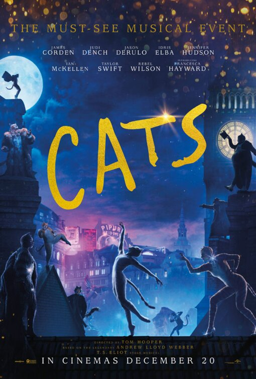 Image result for Cats poster movie