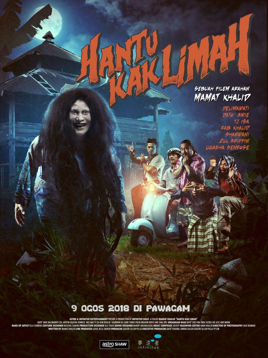 Image result for hantu kak limah poster