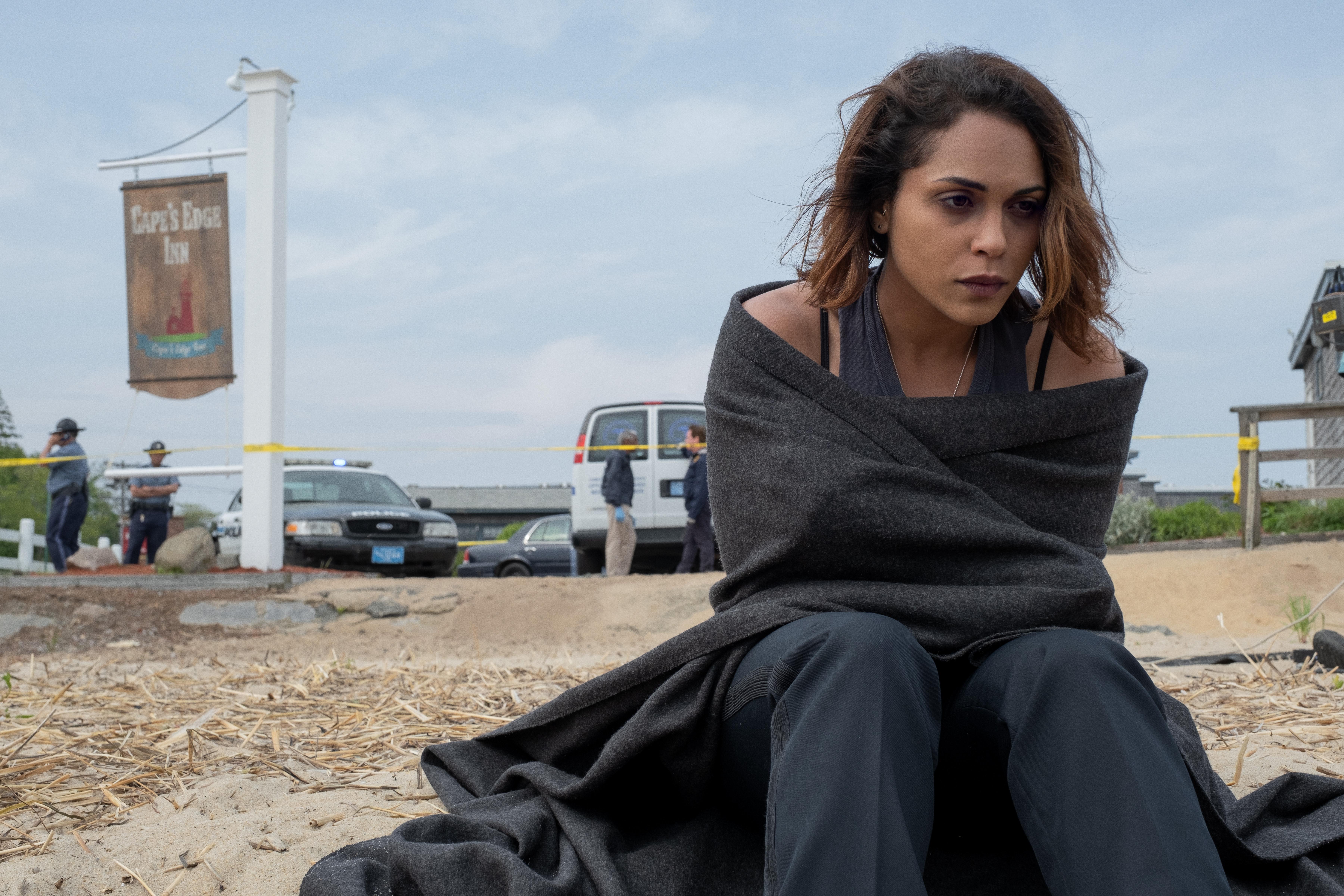 Monica Raymund in Hightown (2020)