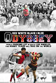 Red White Black & Blue Poster